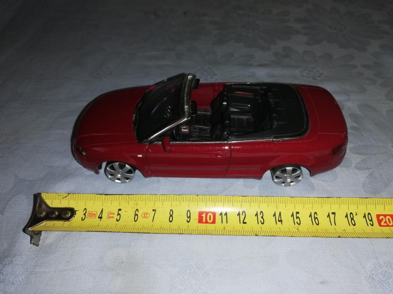 WELEY NO 22440 AUDI A4 CABRIOLET SCALE 1/24